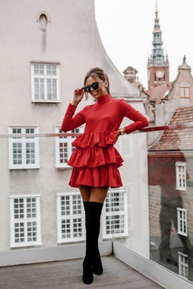 Sukienka Galla czerwona