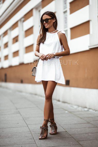 SUKIENKA ELLIE WHITE