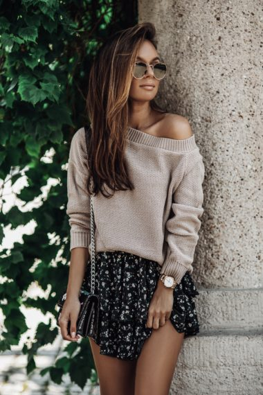 SWETER LUNE MOCCA